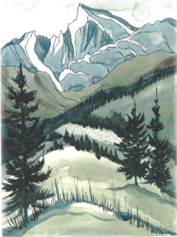 Blue Peak to the Sky