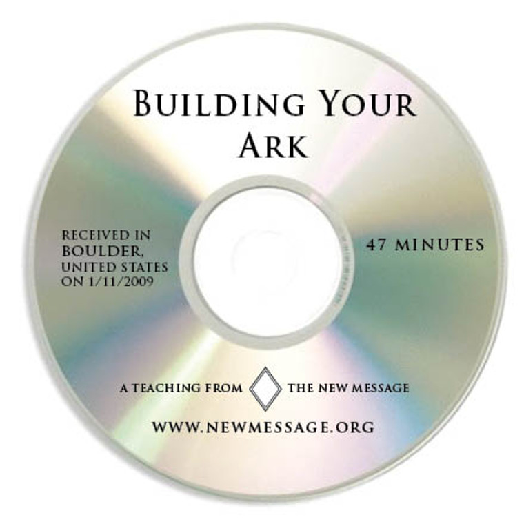 Building Your Ark - CD