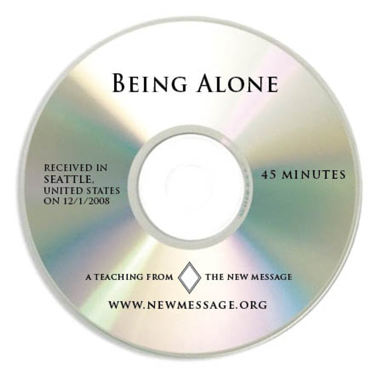 Being Alone - CD