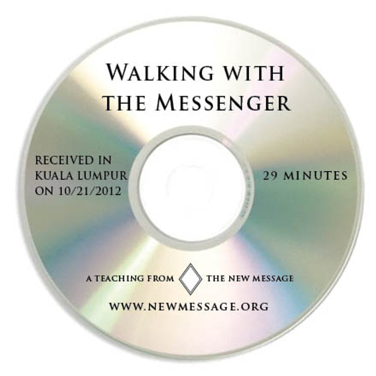 Walking with the Messenger - CD