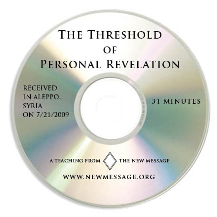 The Threshold of Personal Revelation - CD