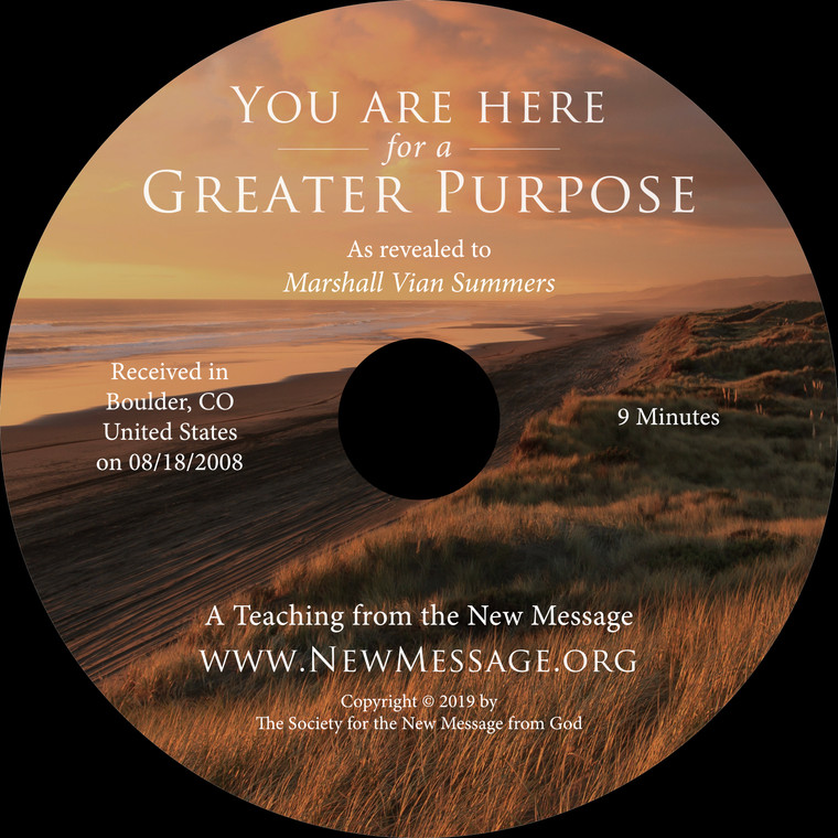 You Are Here for a Greater Purpose CD