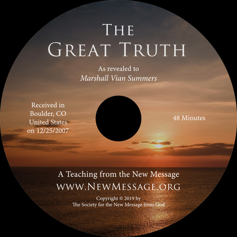 The Great Truth CD