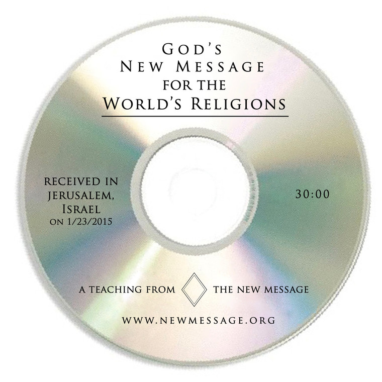 God's New Message for the World's Religions