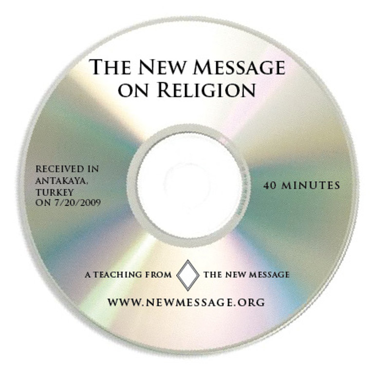 The New Message on Religion-  (The Purpose of Religion)  - CD