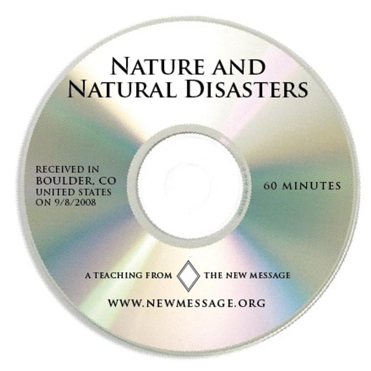 Nature and Natural Disasters CD