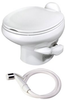 Thetford Aqua-Magic Style II, Low Profile/White W/ Water Sprayer 42061