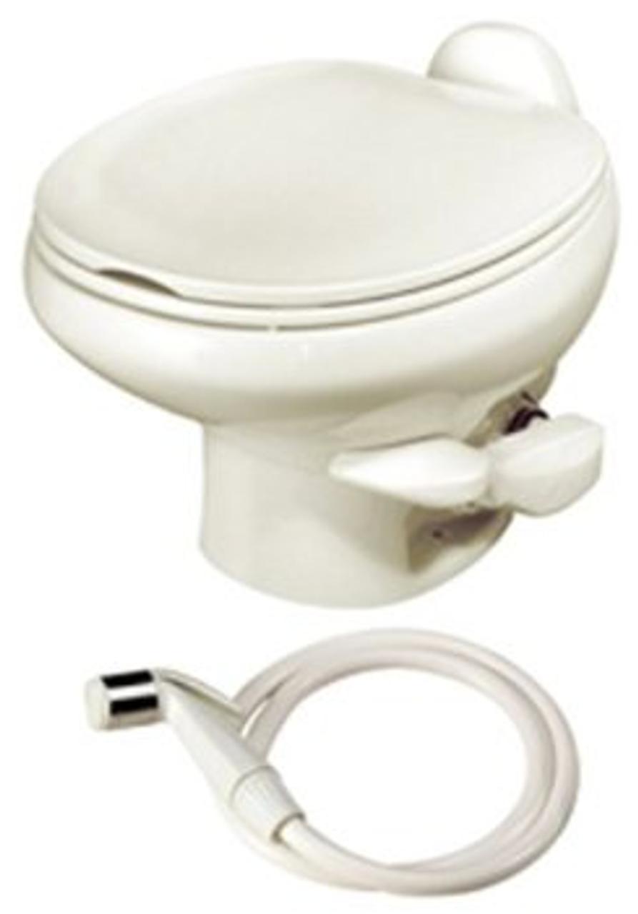 Thetford 42059 Aqua Magic Style II White Low China Bowl