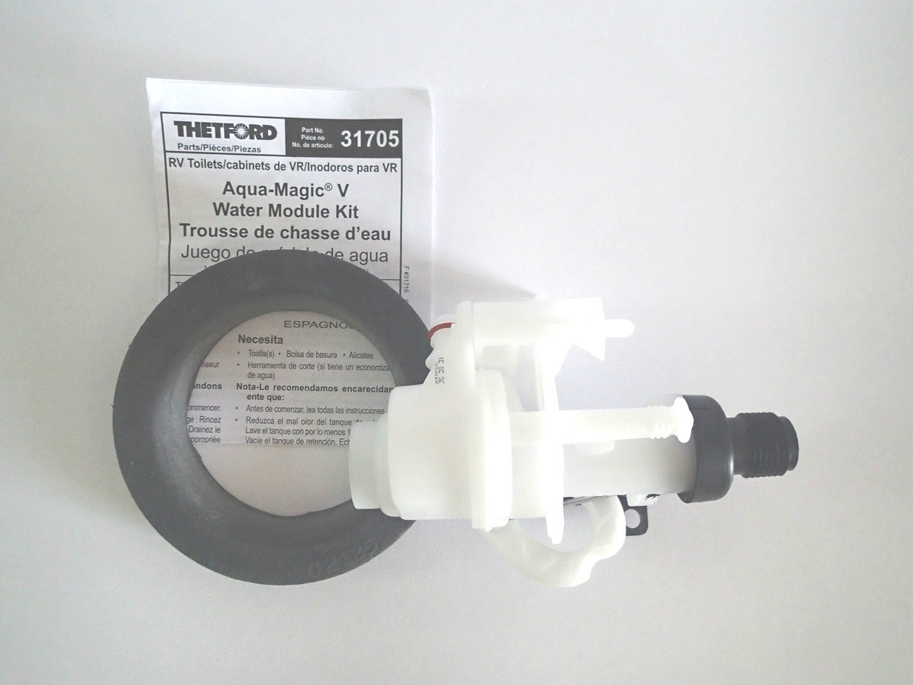 Thetford Toilet Parts : Thetford water valve for aqua magic v thetford guy