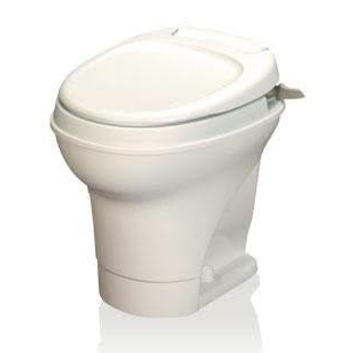 Thetford Aqua-Magic V, Hand-Flush, High Profile/White 31667