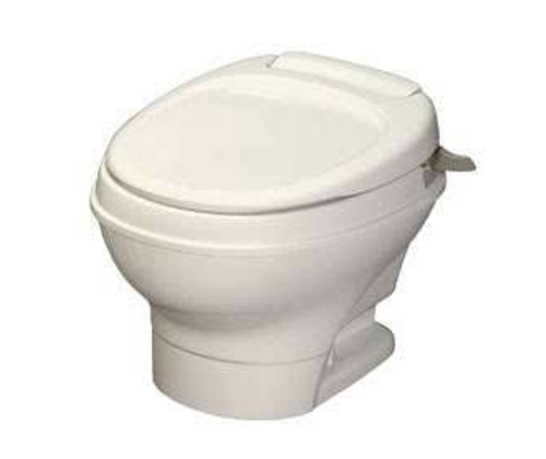 Thetford Aqua-Magic V, Hand-Flush, Low Profile/Parchment 31647