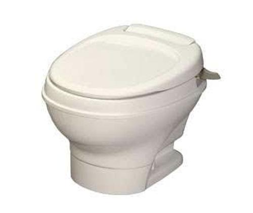Thetford Aqua-Magic V, Hand-Flush, Low Profile/Parchment 31647