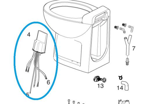 Thetford Controller 38646 (for Tecma Silence Plus Marine Toilet)