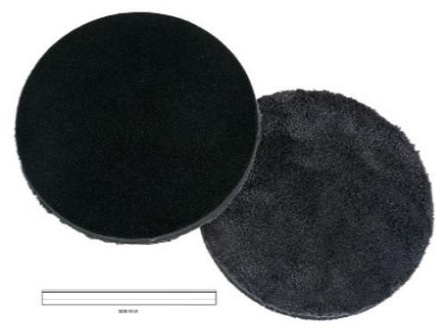 """Microfiber Polishing Dark Grey  6.25"""" Pad"""