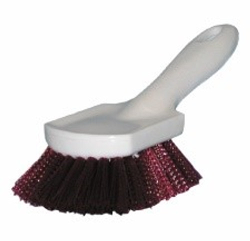 """Auto Upholstery Brush 8 1/2"""" Brown Poly"""