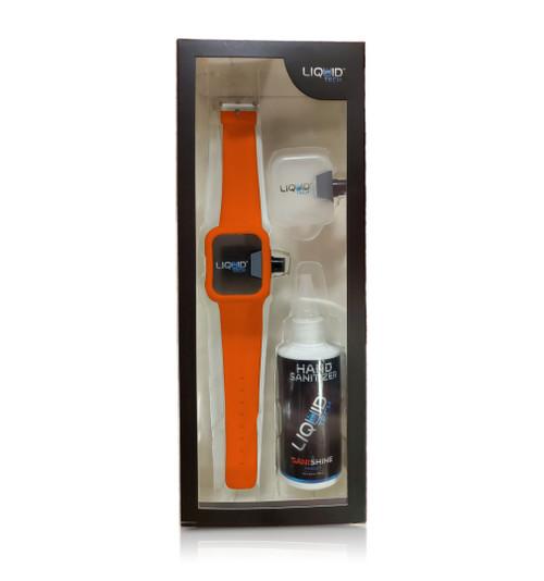 Hand Sanitizer Sani Watch Kit Orange (L)