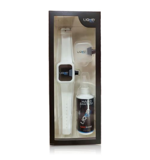 Hand Sanitizer Sani Watch Kit White (L)