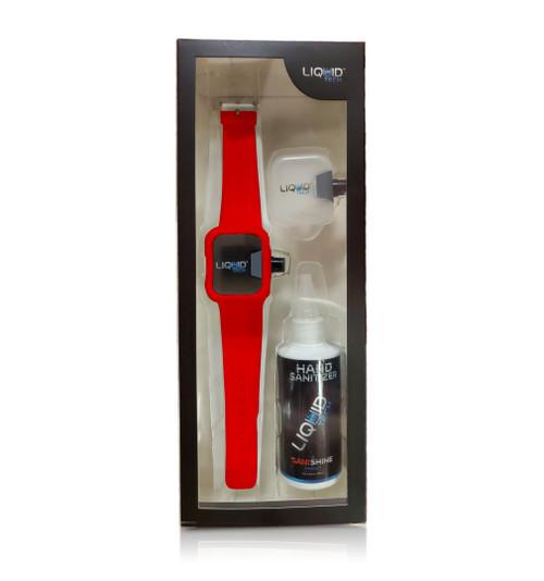 Hand Sanitizer Sani Watch Kit Red (S)