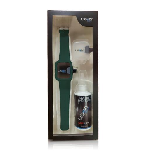Hand Sanitizer Sani Watch Kit Green (L)