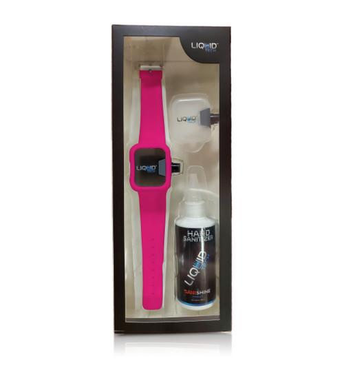 Hand Sanitizer Sani Watch Kit Pink (S)
