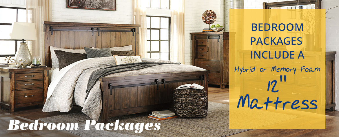 Bedroom Packages Banner