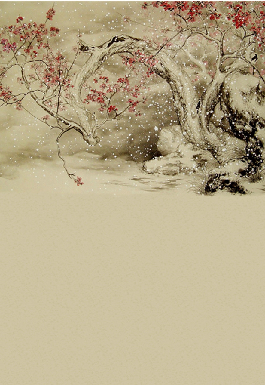 Winter Sakura Backdrop | Photo Pie