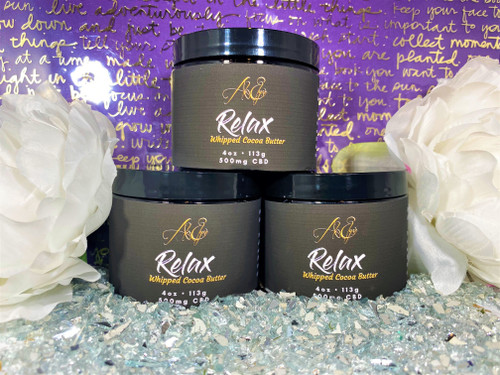Relax Whipped Massage Butter