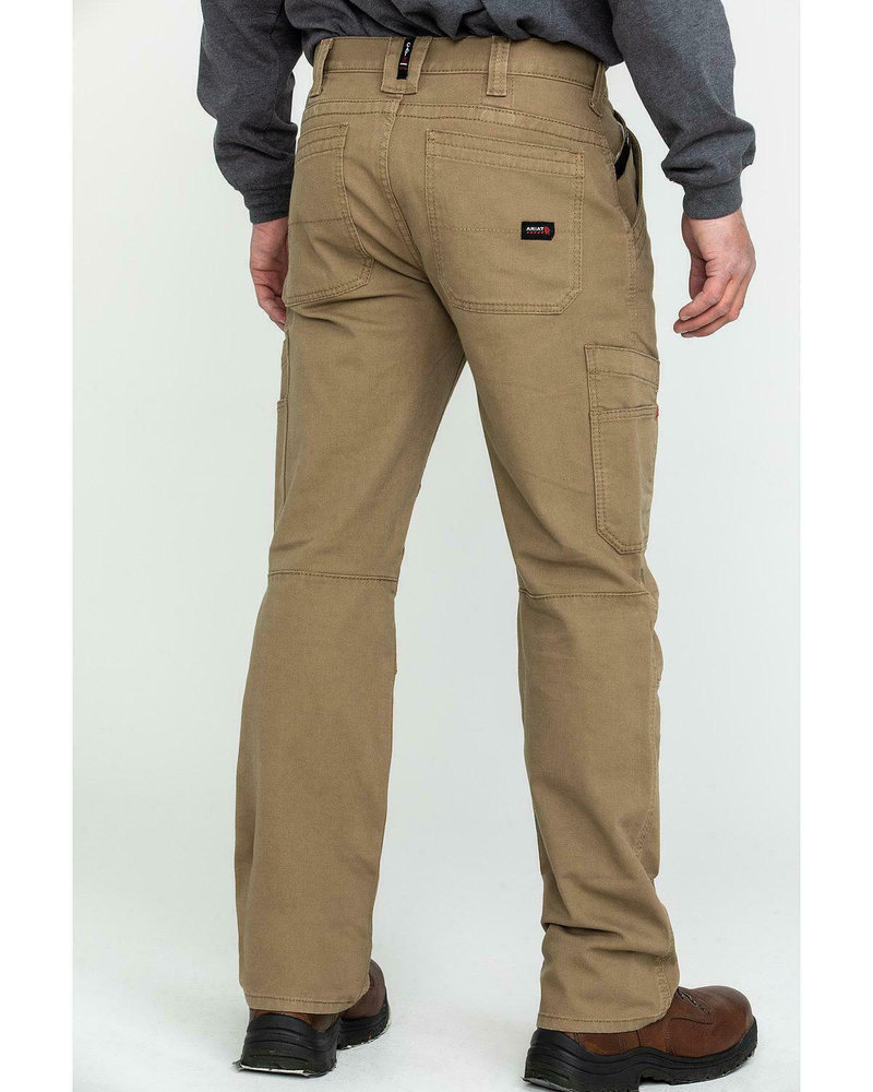 FR M5 Stretch DuraLight Canvas Stackable Straight Leg Pant - Field Khaki