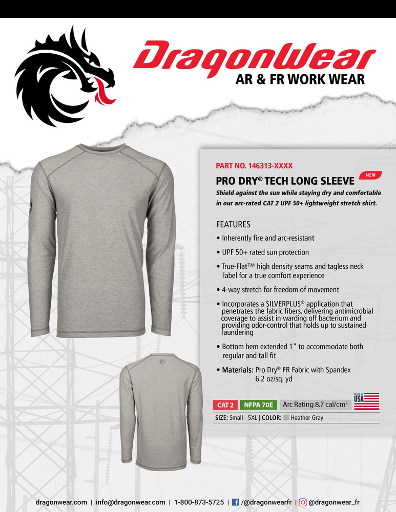 Dragon Wear Pro Dry Tech LS Shirt