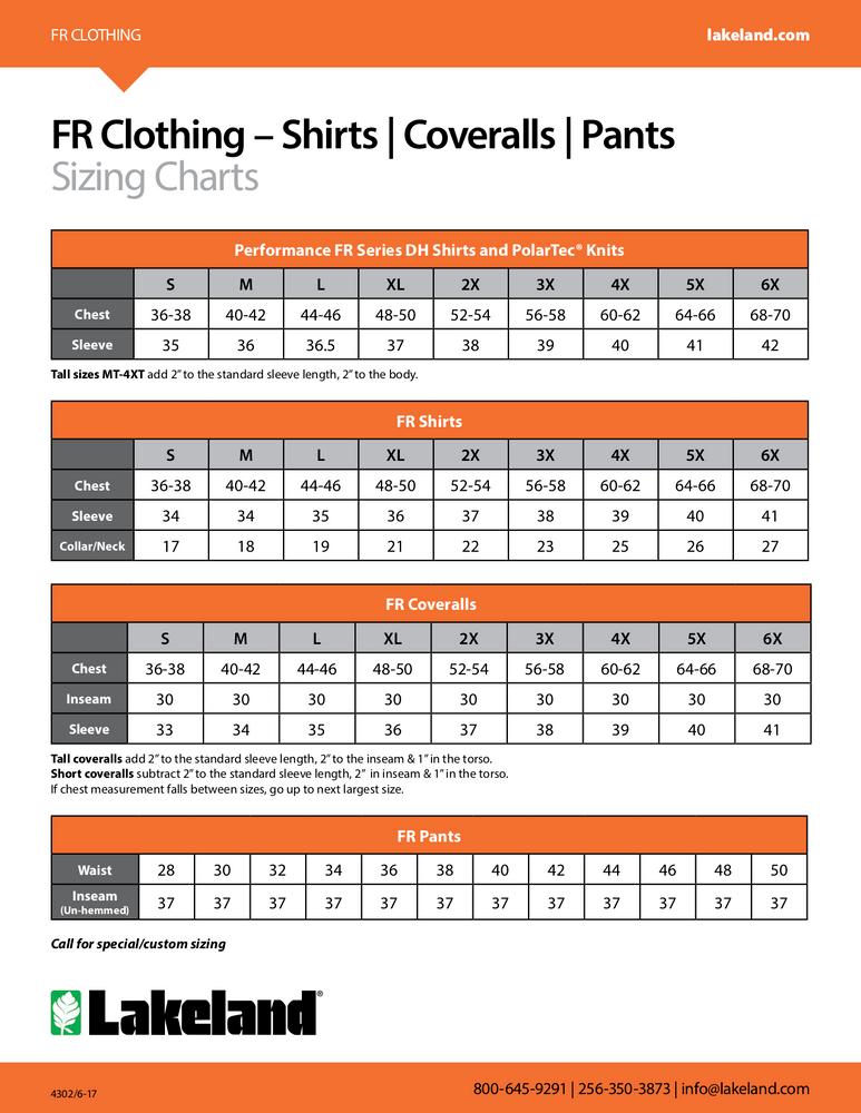 Lakeland 7 oz. 88/12 FR Cotton Coveralls