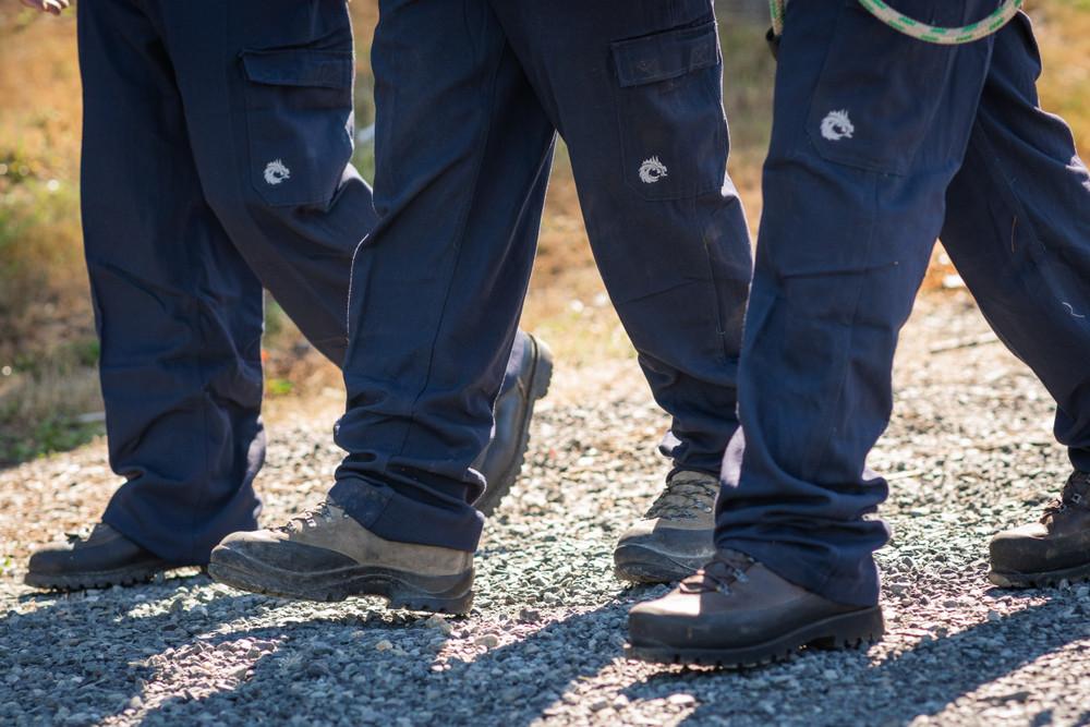 Dragon Wear High Line Pant