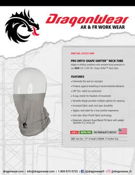 "19"" Dragon Wear Shape Shifter Neck Tube"