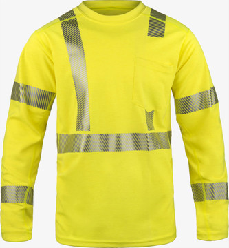 Lakeland Hi-Vis Pullover Long Sleeve Shirt