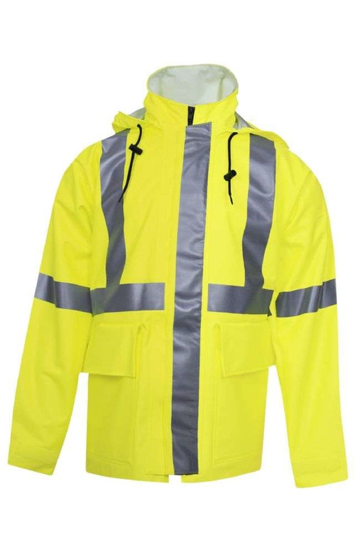 "NSA 30"" Long ARC H20 FR Rain Jacket"