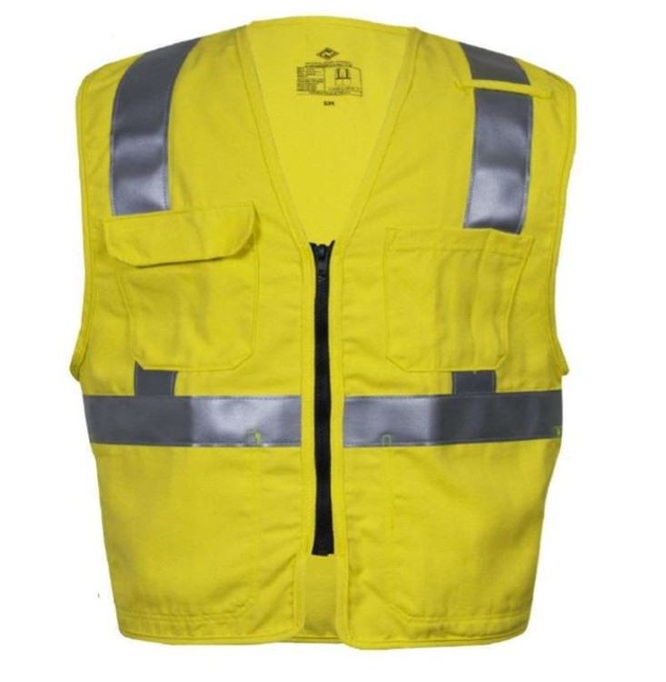 NSA FR HIGH-VISIBILITY DELUXE TRAFFIC VEST
