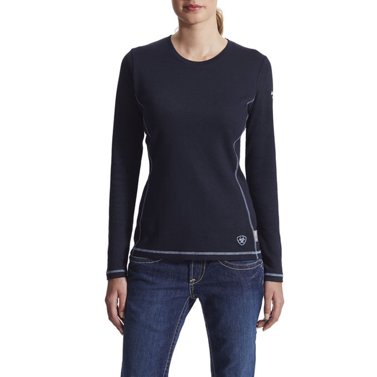 Ariat Women's FR Polartec® Power Dry® Top, Long Sleeve