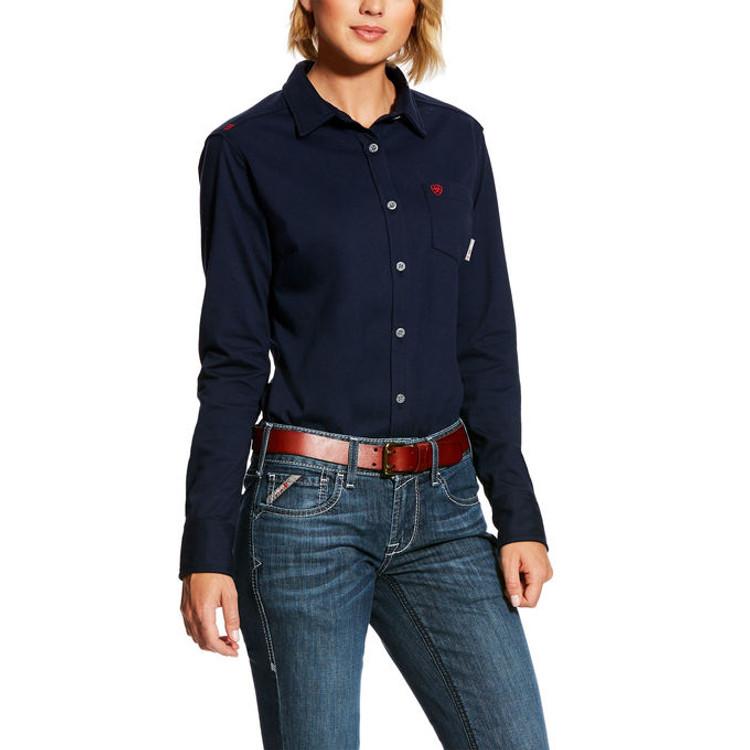 25d437570 Ariat Women's FR Full Zip Hoodie - Dry Canyon FR