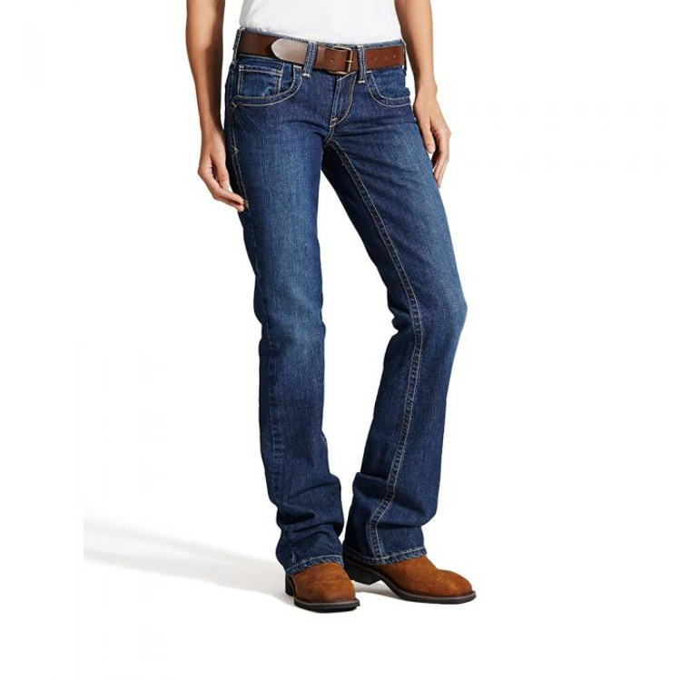 Ariat Women's FR Mid Rise Boot Cut