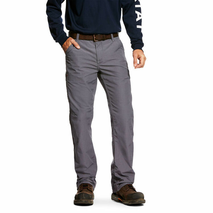Ariat FR M4 Duralight Ripstop Pant - Gray