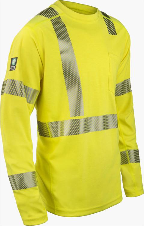 Lakeland Hi-Vis Pullover Long Sleeve Shirt