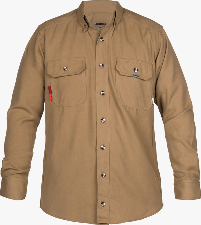 Lakeland 6.5 oz. DH Shirt- Khaki