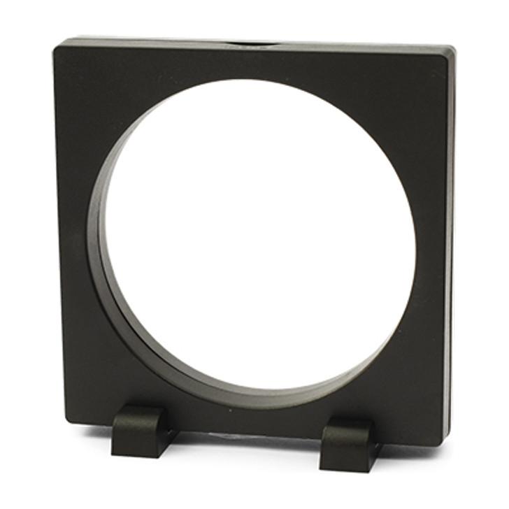 FRAM3D EPress 12x12cm Round 3D Object Frame Black