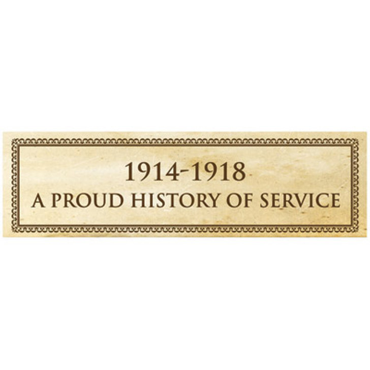 A Proud History Of Service Sticker