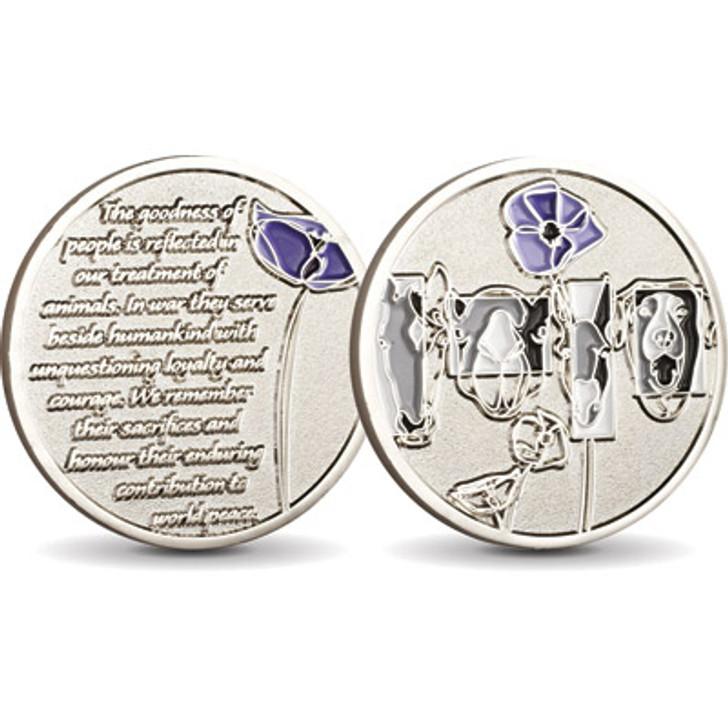 Purple Poppy Medallion