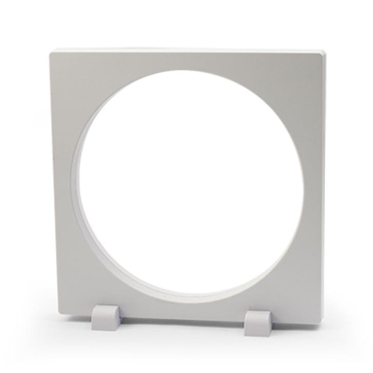FRAM3D BPress 16x16cm Round 3D Object Frame White