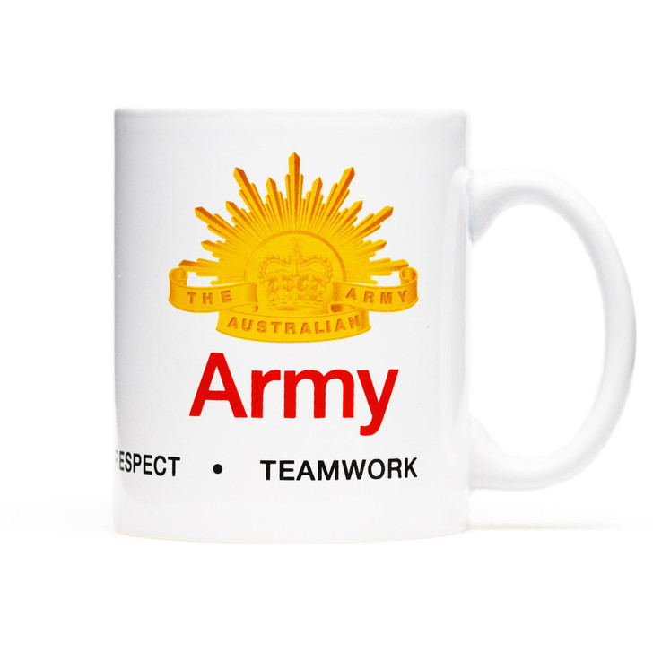 Army Values Coffee Cup