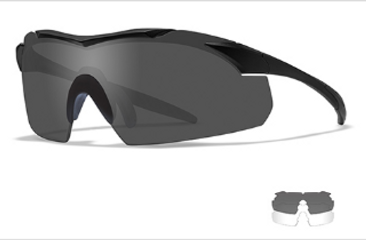 Wiley X Vapor Two Lens Glasses w/Matte Black Frame