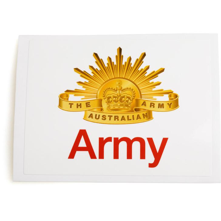 Army Rectangular Sticker