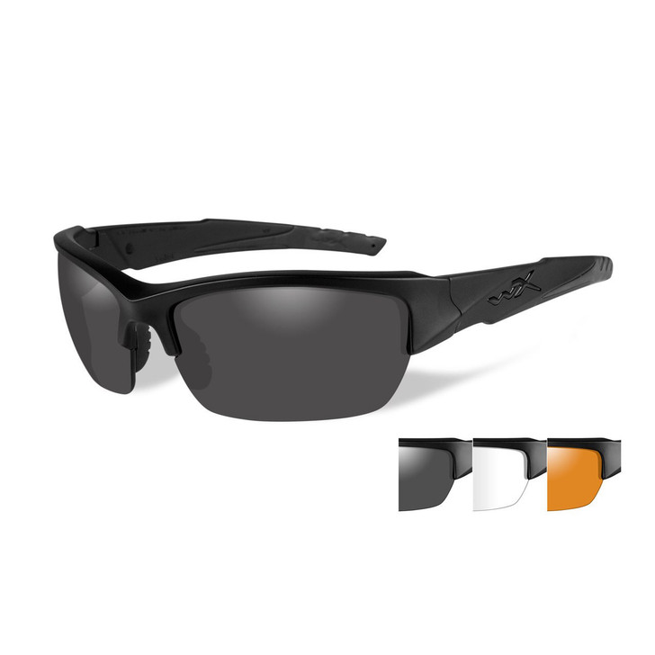 Wiley X Valor Three Lens w/ Matte Black Frame