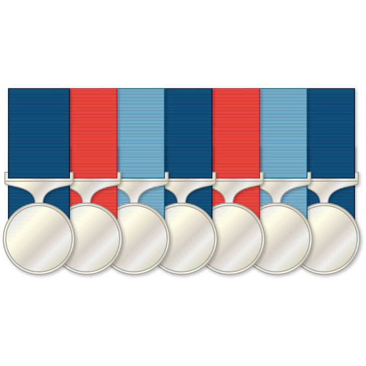 Court Mount 7 Full Size Medals
